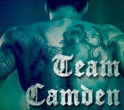 team camden button